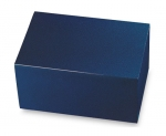 Midnight Blue Regal Painted Bronze Chest