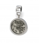 Footprints LifeStories Medallion Bead