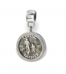 Father LifeStories Medallion Bead